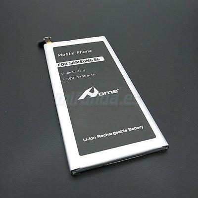 PARA SAMSUNG GALAXY S6 G920 BATERIA COMPATIBLE NUEVA TOTAL DE 3.100 mAh 4.35V