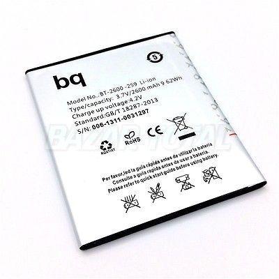 BATERIA BT-2600-259 PARA BQ AQUARIS 5 HD/FNAC PHABLET 5.0 HD LI-ION BATTERY 2
