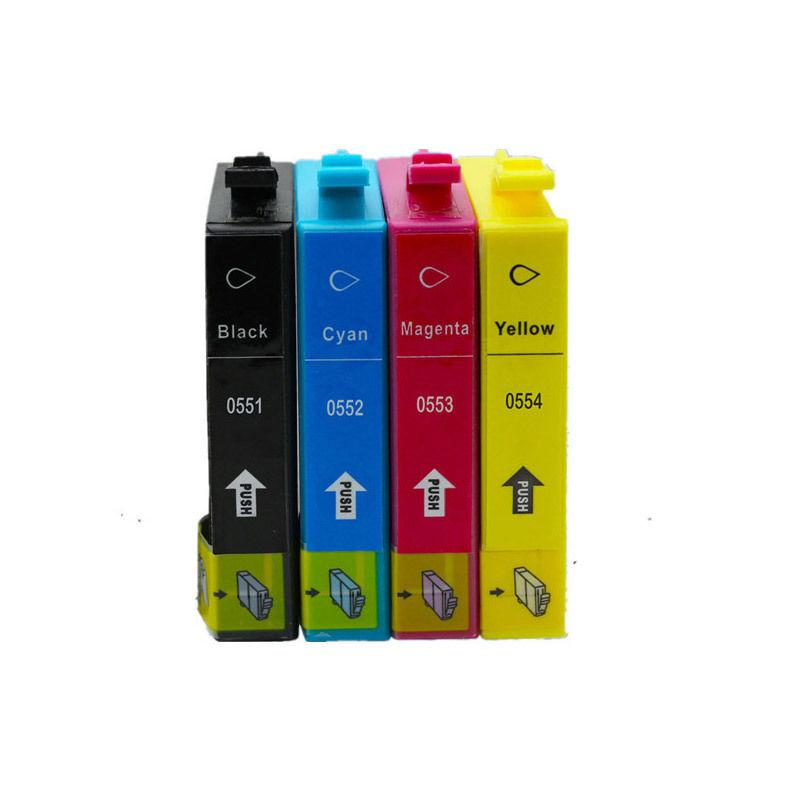 CARTUCHOS DE TINTA COMPATIBLE EPSON T0551-T0554 PARA EPSON STYLUS PHOTO SERIES