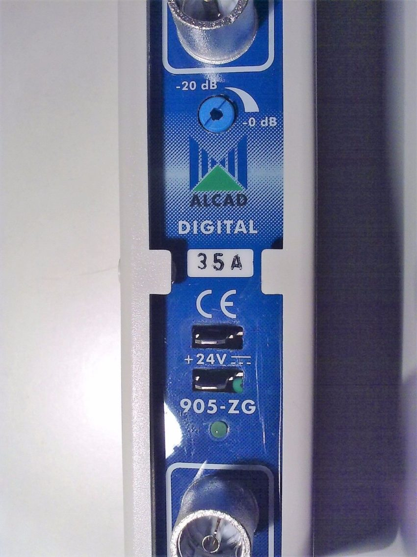 AMPLICADORES DE TV MONOCANAL ALCAD 905ZG 905-ZG/ 28A, 46A, 65-69, 67-69 1
