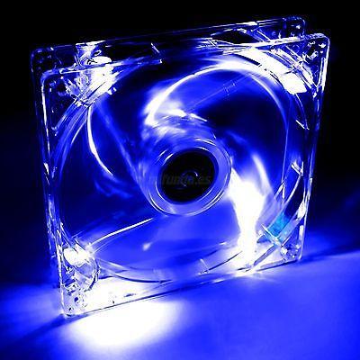 VENTILADOR PARA CAJA DE PC UNIVERSAL CON LED AZUL 12x12x2.5cm 12V PC FAN COOLER