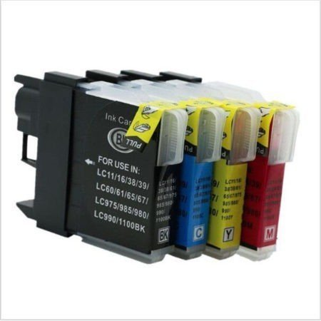 CARTUCHOS DE TINTA COMPATIBLE BROTHER LC-980 / LC1100 PARA DCP Y MFC SERIES