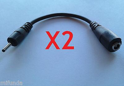 2X CABLE ADAPTADOR CA-44 NOKIA PARA CARGADOR DE N90 N73 N80 5800 E72 E90 ADAPTER