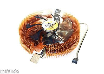 DISPADOR+VENTILADOR PARA PC CPU SOCKET 775 1155 1156 1366 AM2 AM2+ AM3 CPU FAN