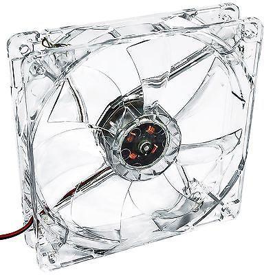 VENTILADOR PARA CAJA DE PC UNIVERSAL CON LED AZUL 12x12x2.5cm 12V PC FAN COOLER 1