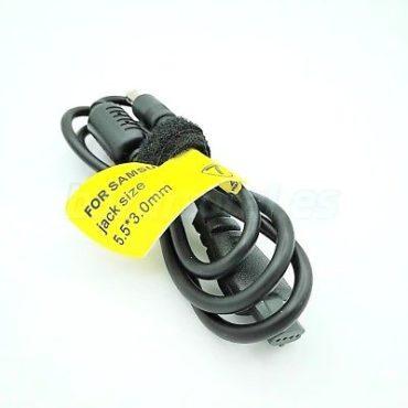 CABLE DE CORRIENTE Aome® Nº7 PARA CARGADOR PORTATIL SAMSUNG SENS PIN 5.5x3.0 mm 1
