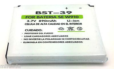 BATERIA BST-39 PARA SONY ERICSSON W910 W20i W910i W380i Z5551 LITIO ION BATTERY 2