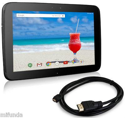 CABLE MICRO HDMI a HDMI PARA SAMSUNG GOOGLE NEXUS 10 HDMI MICRO TO HDMI MALE