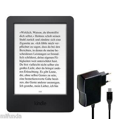 CARGADOR RAPIDO PARA AMAZON KINDLE (2014) 7ª  MICRO USB 10W 2.0A QUICK CHARGER