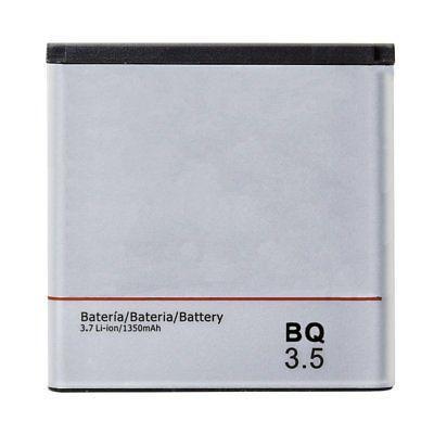 BATERIA DE 1350 mAh PARA BQ AQUARIS 3.5 / FNAC SMARTPHONE 3.5 LI-ION BATTERY