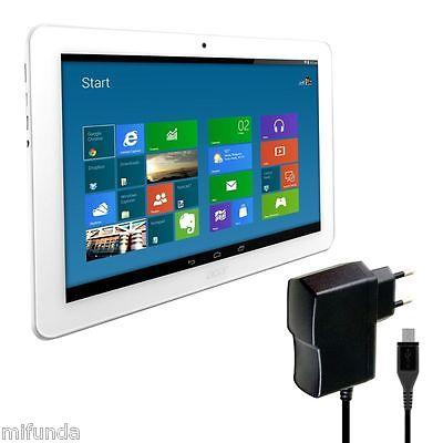 CARGADOR RAPIDO PARA ACER ICONIA ONE 10 MICRO USB CABLE 10W 2,0 A QUICK CHARGER 1