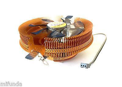 DISPADOR+VENTILADOR PARA PC CPU SOCKET 775 1155 1156 1366 AM2 AM2+ AM3 CPU FAN 1