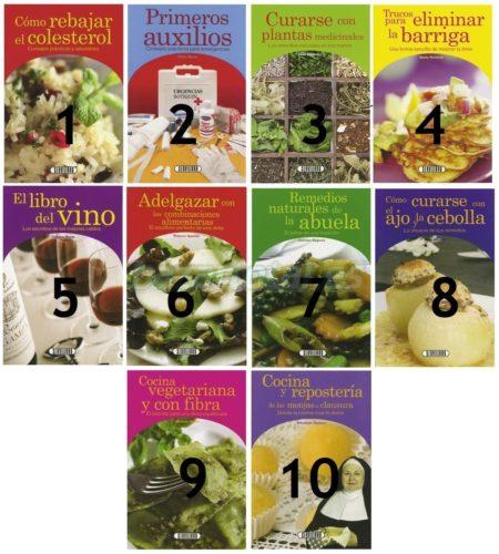 LIBRO BIBLIOTECA DE SALUD MODELOS SURTIDOS, SERVILIBRO, 16,5X11CM